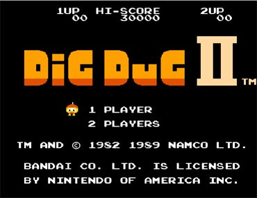 Dig Dug II - Trouble in Paradise